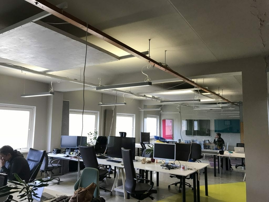 the Workshop coworking space