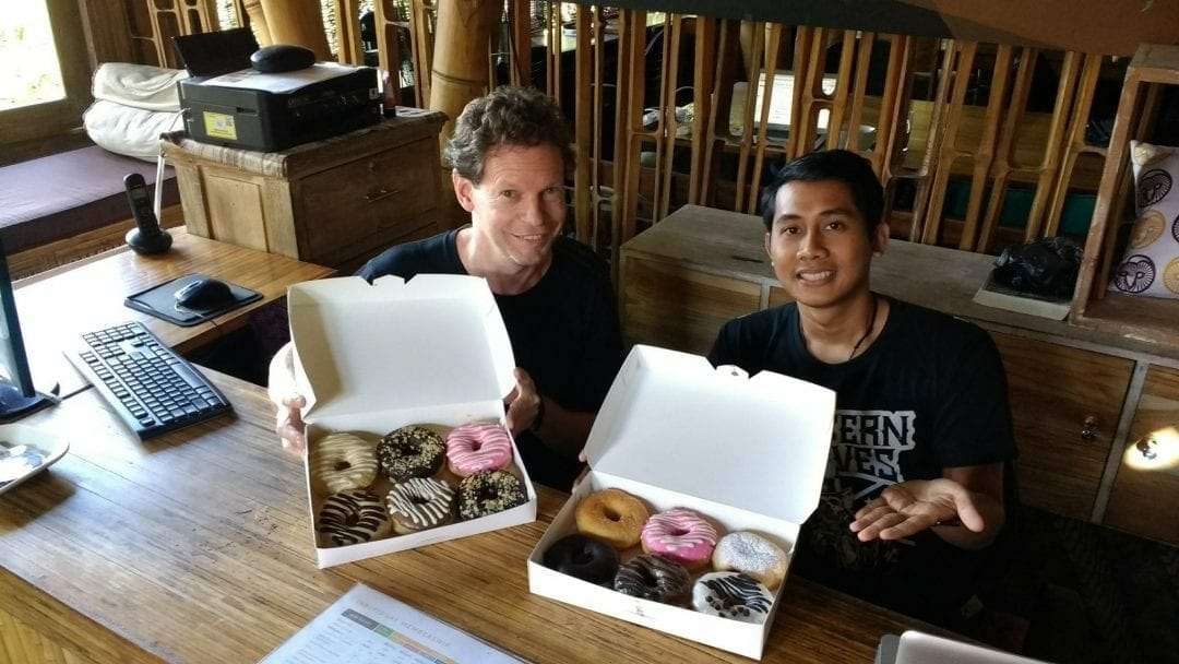 Why I bring the donuts