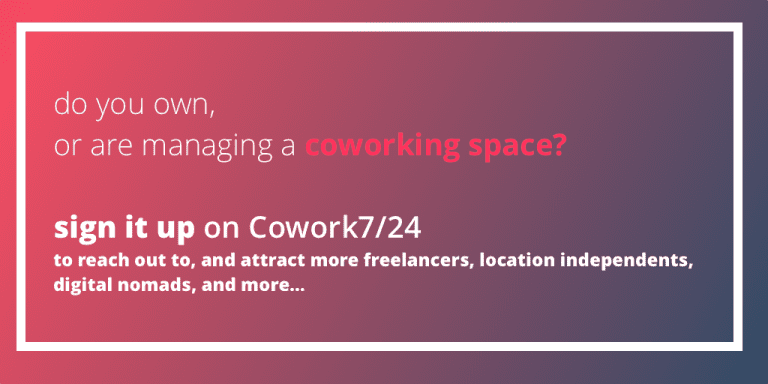 find and book coworking spaces
